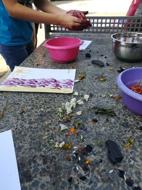 Malen mit Naturfarben