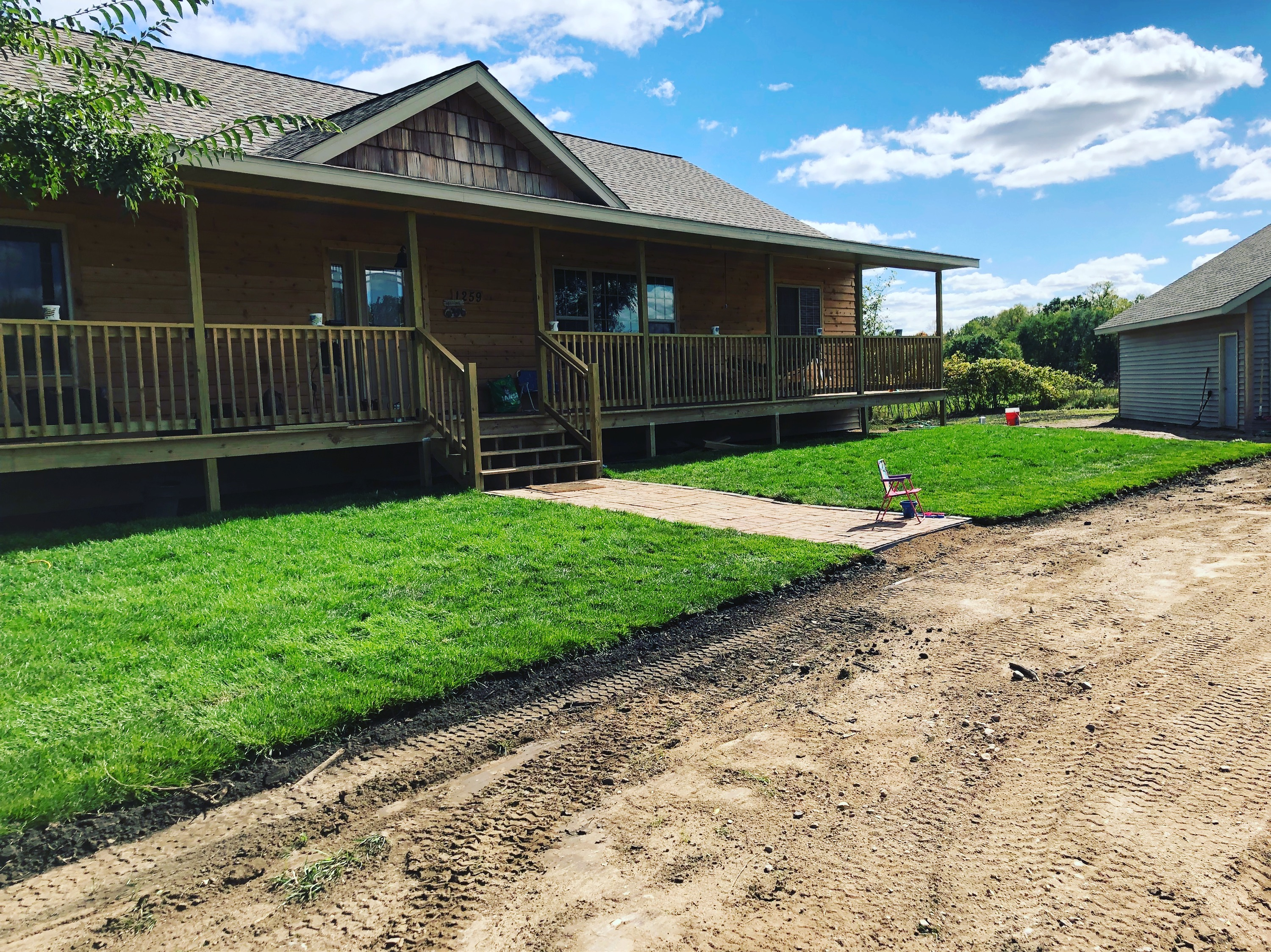 New Construction Grading & Sod
