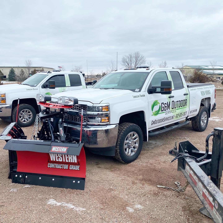 Truck W/Plow