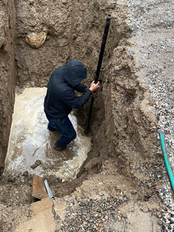 City Water & Sewer Hookup