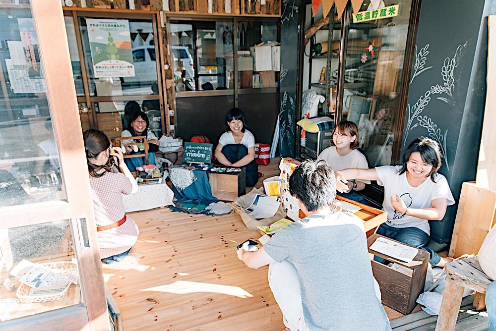 新潟県内野で行われるイベント、コメタクの日にクリ