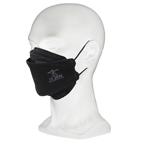 10 Stück SKYSCREEN FFP2 Masken Schwarz