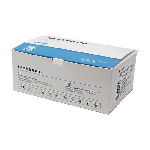 20 Stück IMMUNOBIO SARS-CoV-2 Antigen Rapid Test Kit