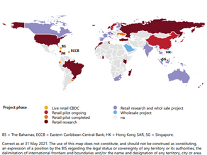 Central Banks continuing to progress CBDCs internationally with recent dialogue and projects