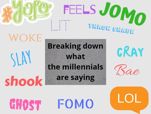 Millennials, Xennials, iGen Speak