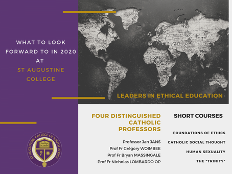 WHAT TO LOOK FORWARD TO IN 2020 | VISITING ACADEMICS
