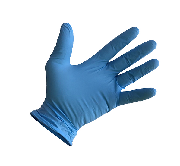 DISPOSABLE MEDICAL GLOVES (Nitrile Examination) - Pack of 100