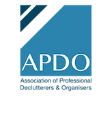 Association of Professional Organisers Logo.  APDO Logo.