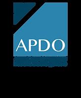 Association of Professional Organisers Logo.  APDO Logo.