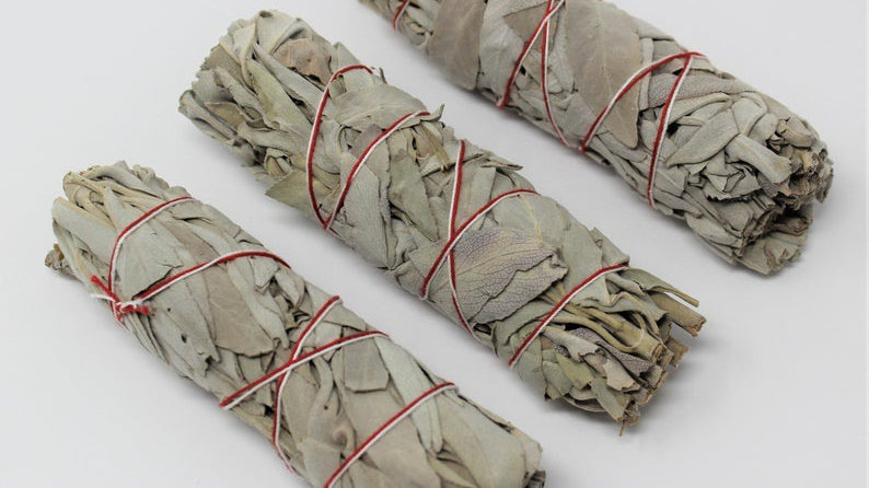 3pc White Sage Smudge