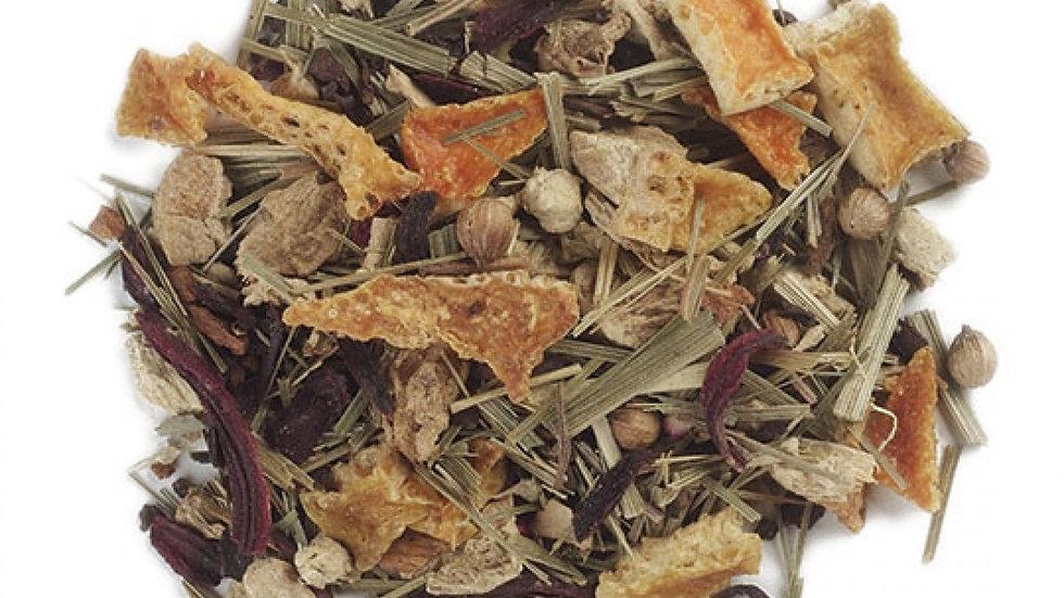Lemon and Ginger herbal loose leaf tea
