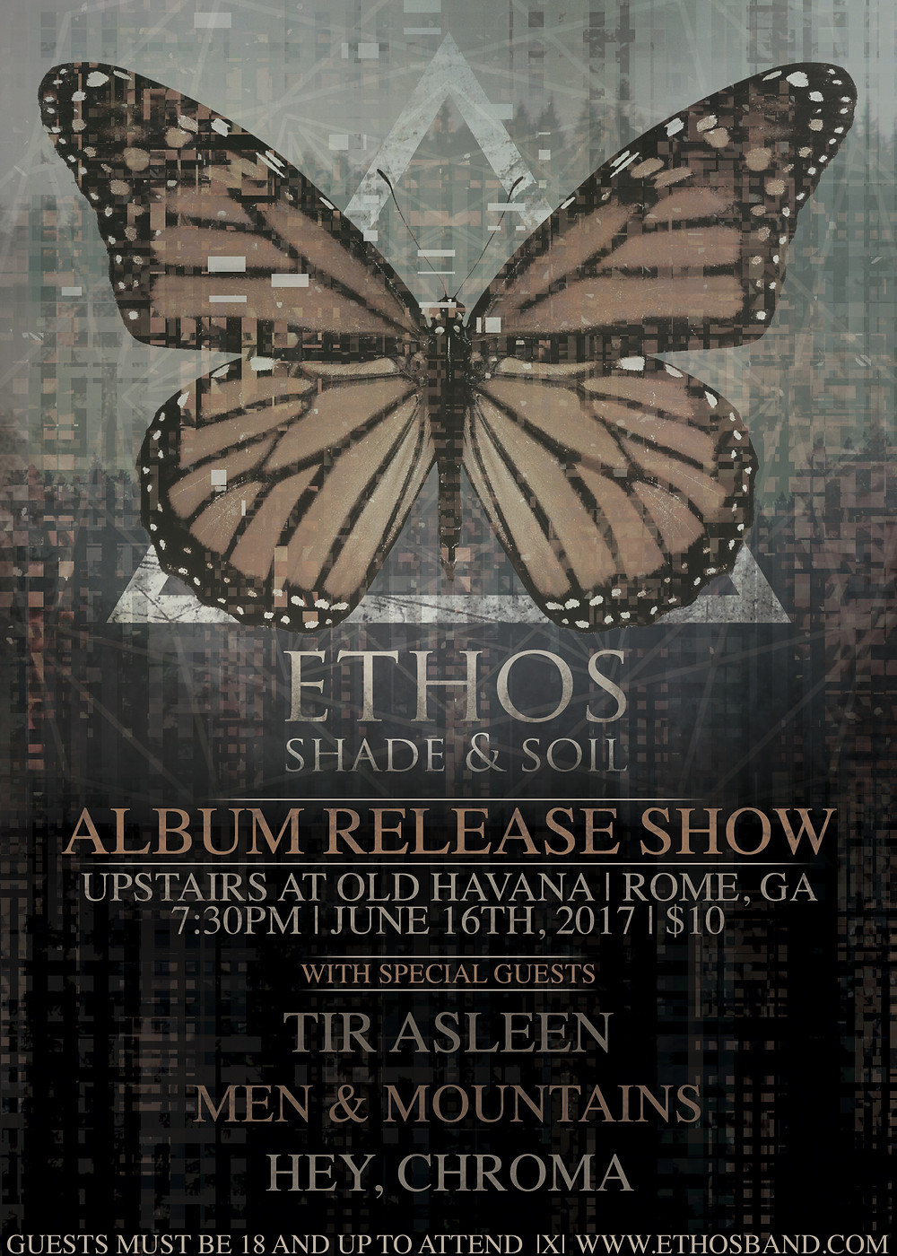 ethos, release, album, shade and soil