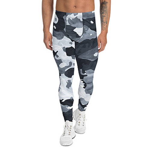 Men's Winter Camo Leggings Top Quality Hand Made To Order