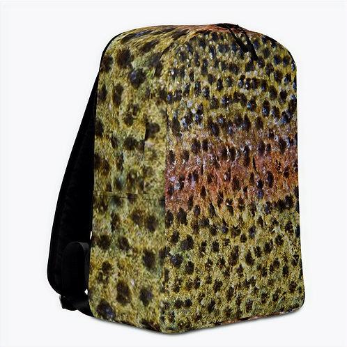 "TREKK X ® Back Water ""Large Mouth"" Bass Skin Camo Fishing Hunting Backpack"