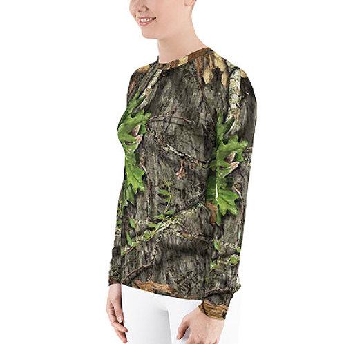Ladies Mossy Oak ® Obsession Camo Clothing Rash Guard Top
