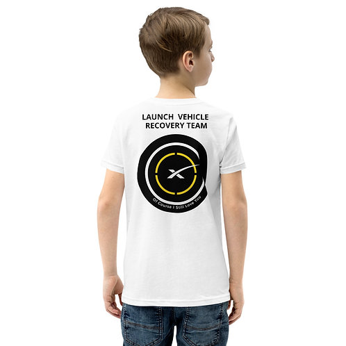 SpaceX LZ Recovery Team Youth Short Sleeve T-Shirt