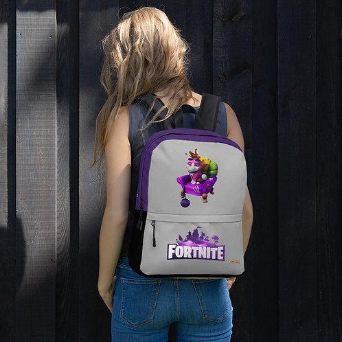 "GAMER X Fortnite ""Empress"" Pet Epic ® Games Quality Pocketed Backpack"