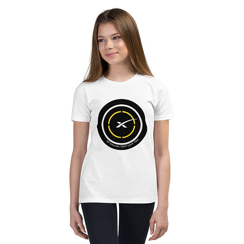 """SpaceX LZ  """"Of Course I Still Love You"""" Youth Short Sleeve T-Shirt"""