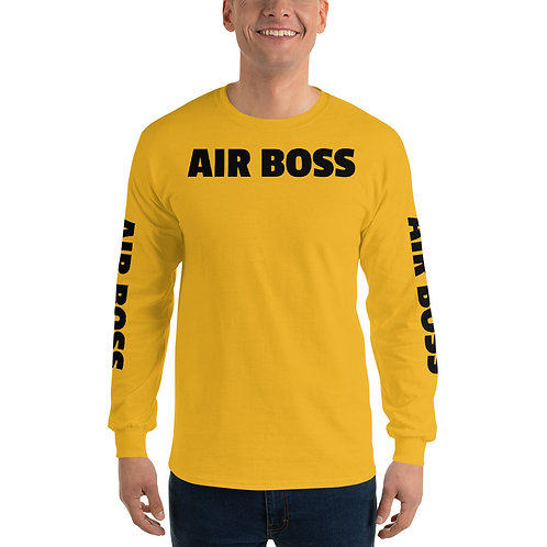 "USN ""Air Boss"" Men's Long Sleeve Shirt"