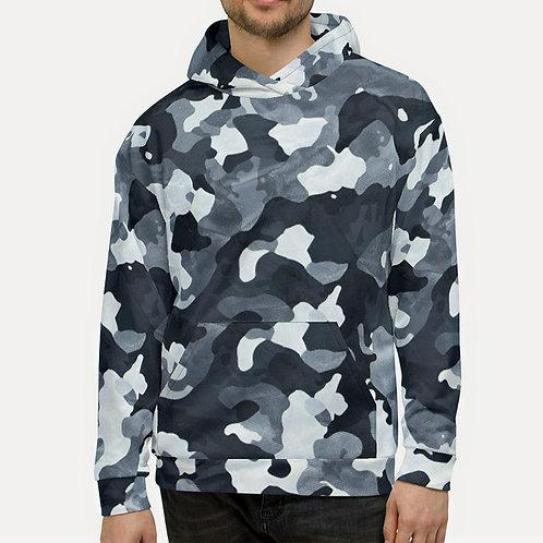 "TREKK X ""Siberia"" Winter Men's Camo Unisex Sweat Shirt Hoodie"