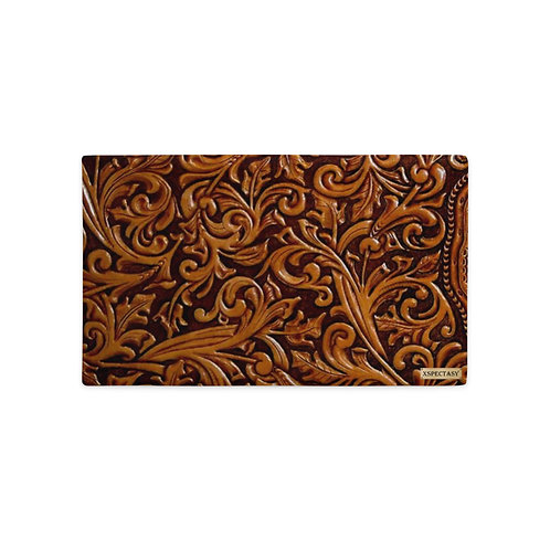 """O.G. STEAMPUNK """"Wild Wild West"""" Tooled Paisley Leather Premium Pillow Cases"""