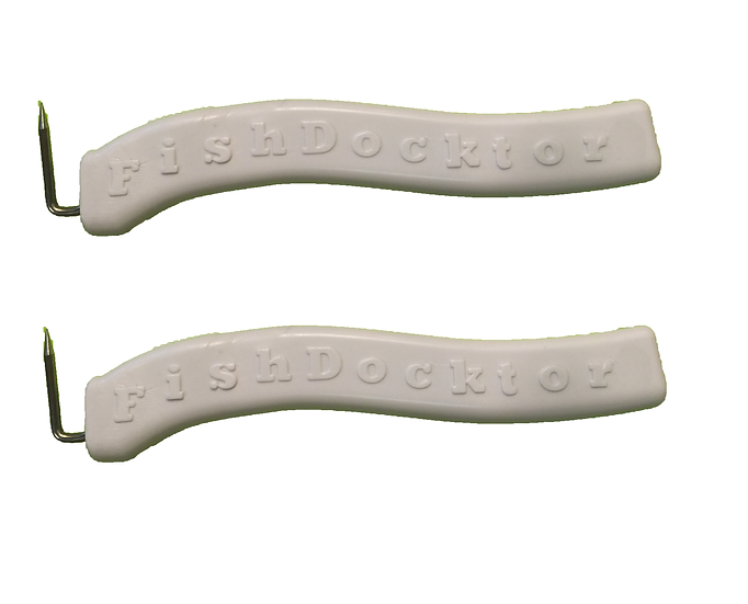(2) Fish Docktor ® Handles MINI Gaff Sanitary Safety Tools