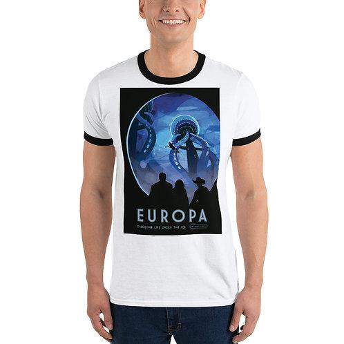 NASA X Europa EXO Planetary Travel Ringer T-Shirt
