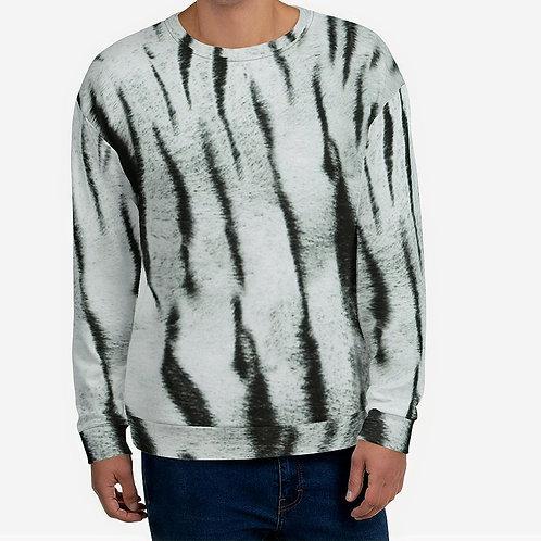 "TREKK X ""Yeti"" Real Life ® Winter Snow Tiger Camo Camouflage Unisex Sweatshirt"