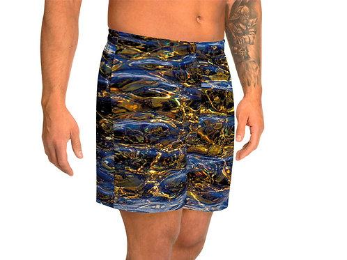 "TREKK X ® Back Water ""Fly Master"" Bass Fishing Water Sports Athletic Long Shorts"