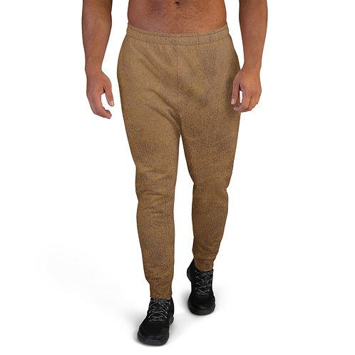 "TREKK X ""Aged Leather"" Look Men's Sweat Pants Joggers Clothing"