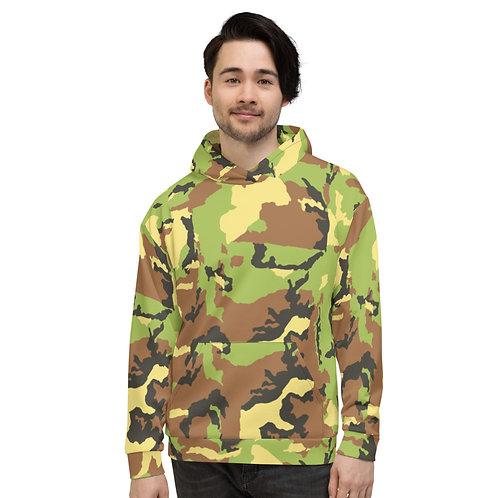"""TREKK X """"Hunter"""" Green Camo Unisex Premium Hoodie"""