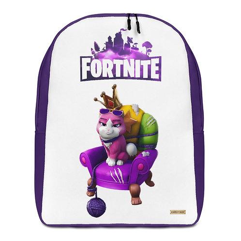 "GAMER X Fortnite Pet ""Empress"" Epic Games ® Premium  Minimalist Backpack"