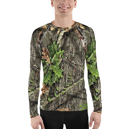 Men's Mossy Oak ® Obsession Camo Clothing  Base Layer Rash Guard