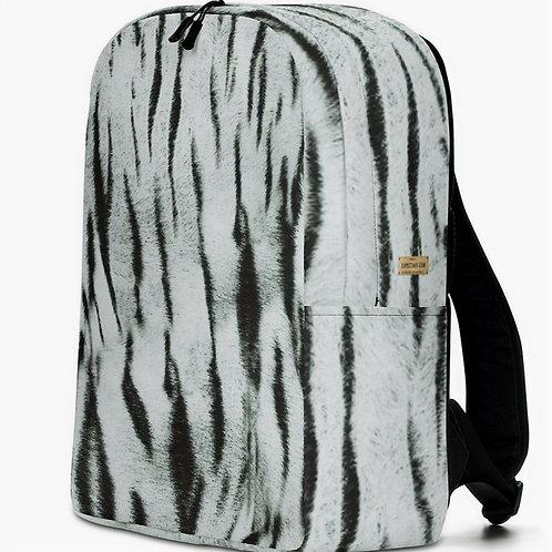 "TREKK X ""Yeti"" Real Life ® Winter Snow Tiger Camo Minimalist Backpack"