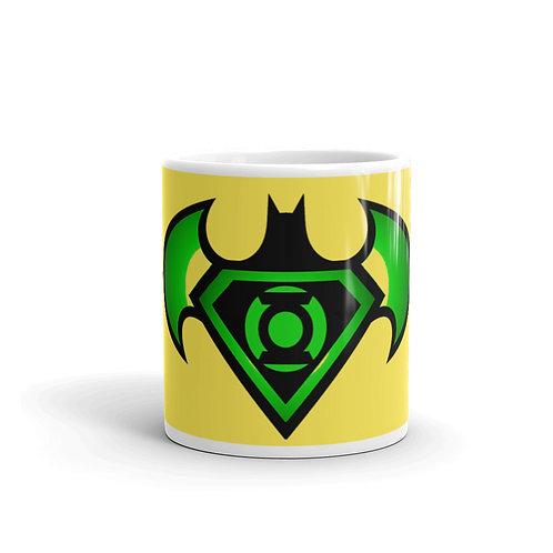 """O.G. STEAMPUNK """"Bat Signal"""" Coffe Tea Drink Mug"""