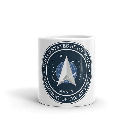 """U.S. Space Force"" Coffee Mug"