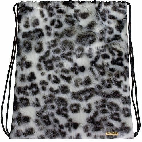 TREKK X® Panthera Winter Snow Leopard Camo Drawstring bag