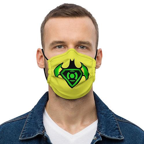 "O.G. STEAMPUNK Luminescent NEON ""Bat Signal"" Face Mask"