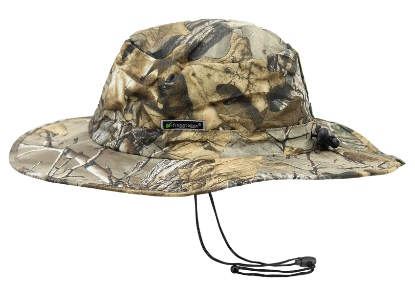 Frogg Toggs ® Breathable & Waterproof Realtree Camo Hunting Fishing Boonie Hat