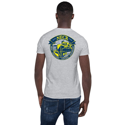 "O.G. STEAMPUNK ""New England Central Railroad"" Short-Sleeve Unisex T-Shirt"