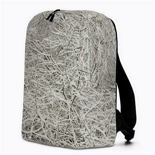 "TREKK X ® High Country ""First Tracks"" Winter Camo Minimalist Backpack"