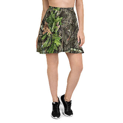 Ladies Mossy Oak ® Obsession  Camo Clothing Skaters Skirt