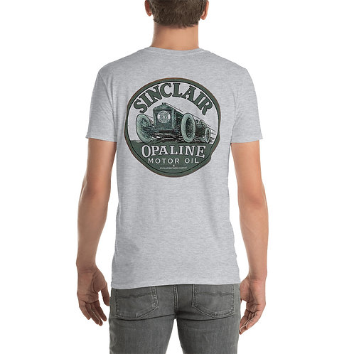 "O.G. STEAMPUNK ""Sinclair Opaline Motor Oil"" Short-Sleeve Unisex T-Shirt"