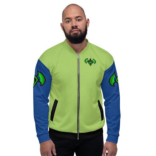 "O.G. STEAMPUNK ""Neon Batman"" Unisex  Bomber Jacket"