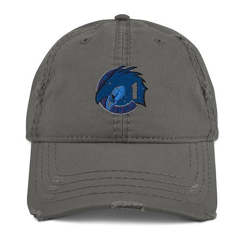 "SPACEX ""Crew 1"" Distressed Unisex Baseball Hat Cap"