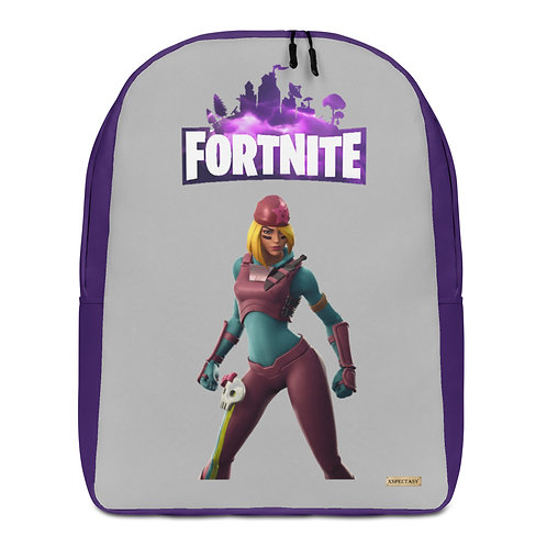 "GAMER X Fortnite ""Skully"" Character Epic Games ® Premium Minimalist Backpack"