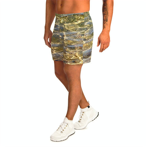 "TREKK X ® Back Water ""Streamer"" Camo Fishing Hunting Water Sports Long Shorts"