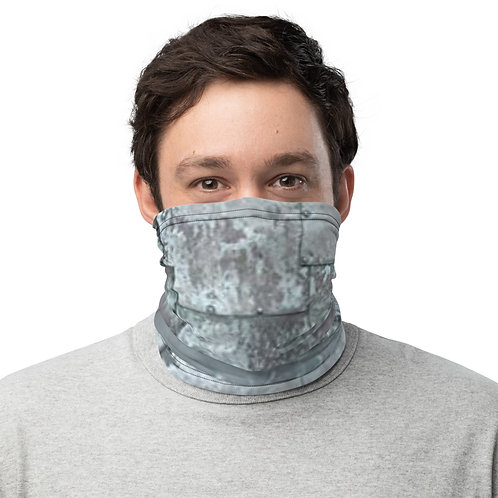 "TREKK X ""MechaniX"" Riveted Aged Steel Neck Gaiter"