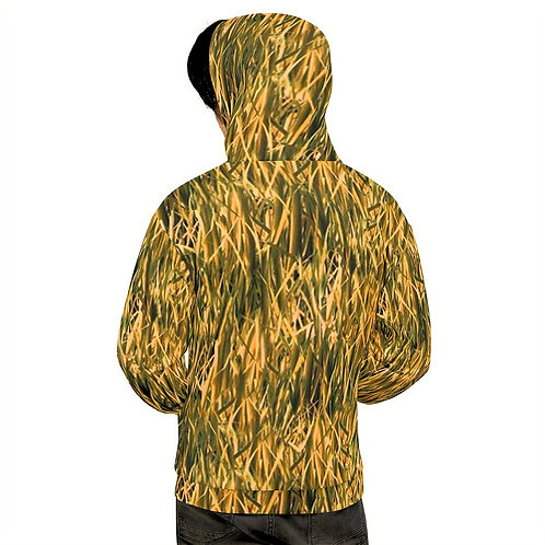 "TREKK X ® Back Water ""High Grass"" Camo Fishing Hunting Sports Unisex Hoodie"