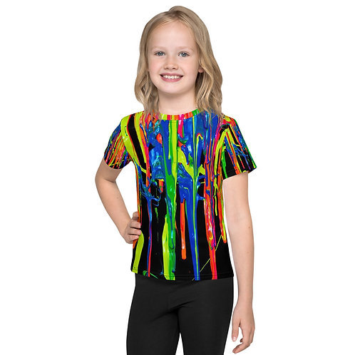 "Kids T-Shirt Kids ""Dripping Wet Paint"" Collection"